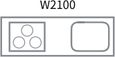 W2100 キッチン写真