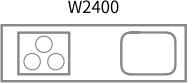 W2400 キッチン写真